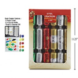 "Christmas Crackers - 11.5"" ~ 6 per pack"
