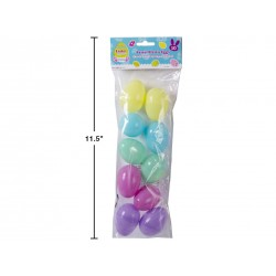 "Easter Fillable Eggs - 2.5"" Pastel ~ 10 per pack"