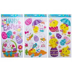 Easter Glitter Window Clings