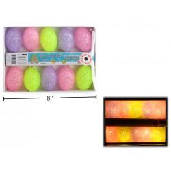Easter EVA Egg Indoor Light Set ~ 10 per pack