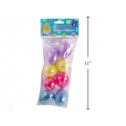 "Easter Fillable Eggs - 2.5"" Opalescent ~ 8 per pack"