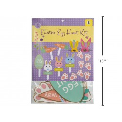 Easter Card Board Egg Hunt Kit ~ 8 pieces