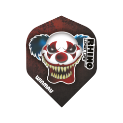 Rhino Flights ~ Clown Face