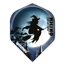 Rhino Flights ~ Witch on Broom