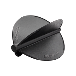 Winmau Stealth Flights ~ Black Pear