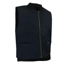 Navy Fleece Lined Vest