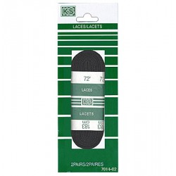 "Sport Laces 72"" ~ Black"