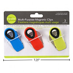 Magnetic Colored Clips ~ 3 per pack