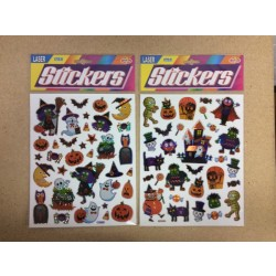 Halloween Laser Stickers