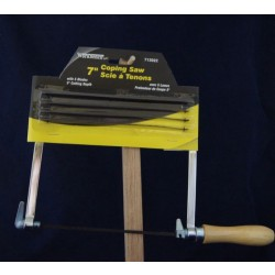 Coping Saw w/5 Blades