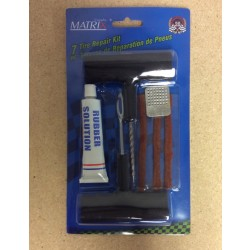 Auto Repair Tire Patch & Plug Set