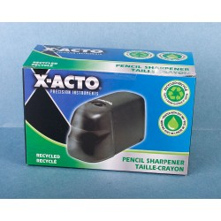 X-Acto Pencil Sharpener w/Reservoir ~ Battery Operated