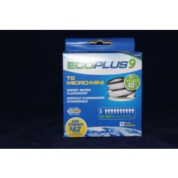 Micro Mini Fluorescent Bulbs - 2 per pack ~ 9W