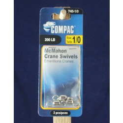 Compac Nickel Crane Barrel Swivels