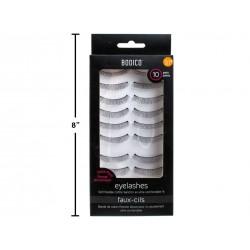 Bodico Eyelashes with Super Glue ~ 10 pairs