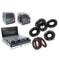 Bodico Coil Hair Ties ~ 5 per pack