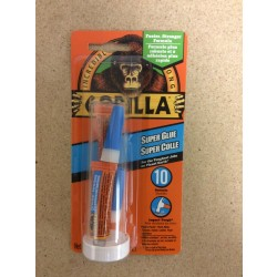 Gorilla Super Glue ~ 2 x 3gr Single-Use Tubes