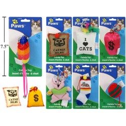 Catnip Toys ~ 9 assorted
