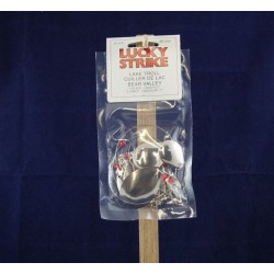 Lucky Strike Lake Troll - Bear Valley ~ Nickel / Copper
