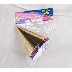 Foil Party Hats ~ 6 per pack