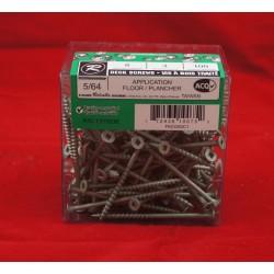 "Pressure Treated Green Decking Screws - #8 x 3"" ~ 100 per box"
