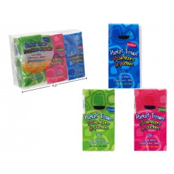Pocket Tissues ~ 3 packs per package
