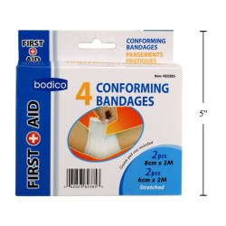 Conforming Bandages ~ 4 per pack