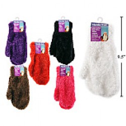 Ladies Feathery Magic Mittens