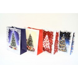 Christmas Large Gift Bag ~ Christmas Trees