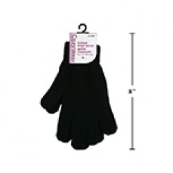 Black Knitted Magic Gloves