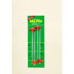 Coghlan's Nail Pegs ~ 4 per pack