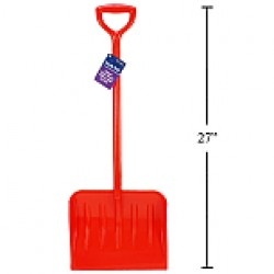 "Kid's Plastic Snow Shovel ~ 27""L"