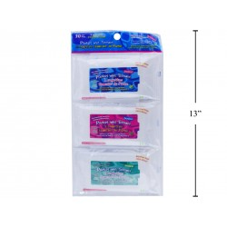 Pocket Wet Wipes - Moist Towelettes ~ 3 packs