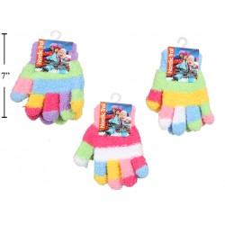 Kid's Multi-Colored Cozy Magic Gloves