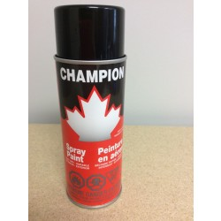 Champion Spray Paint - 285gr tin ~ Gloss Black
