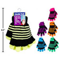 Ladies Neon Magic Gloves