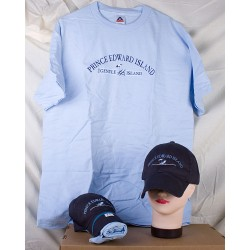 Prince Edward Island Ball Cap & T-Shirt Combo ~ Beach Chair