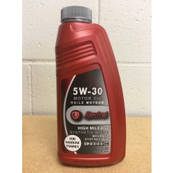 Spectrol High Mileage Synthetic Blend Motor Oil ~ 5W-30