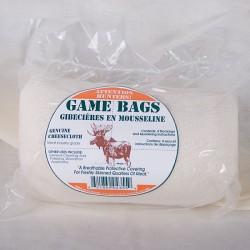Moose Game Bags ~ 4 sleeves per pack