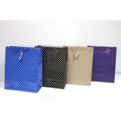 Large Gift Bags ~ Polka Dots Glossy