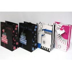 Wide Jumbo Gift Bags ~ Birthday