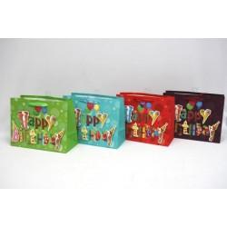 Medium Gift Bags - Horizontal ~ Birthday with Glitter