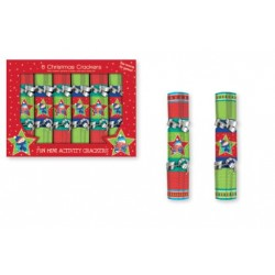 "Christmas Crackers - 6"" ~ 6 per pack"
