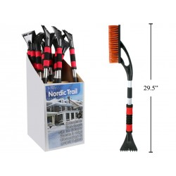 "Extendable Snow Brush with Ice Scraper ~ 295"" - 37"""
