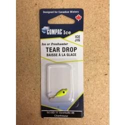 Tear Drops - Size 8 ~ Chartruese