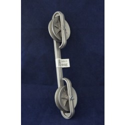 Clothes Line Zinc Spacer w/Wheels ~ 10""