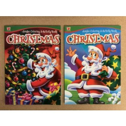 Christmas Coloring & Activity Book ~ 2 asst