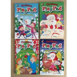 Christmas Play Pads ~ 6 asst