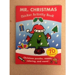 Mr. Christmas Sticker/Activity Book
