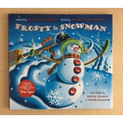 Frosty the Snowman Hard Cover Book w/CD